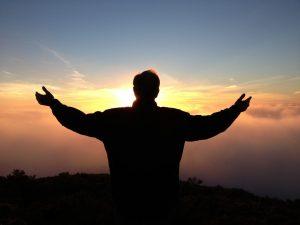 Morning meditation and prayer