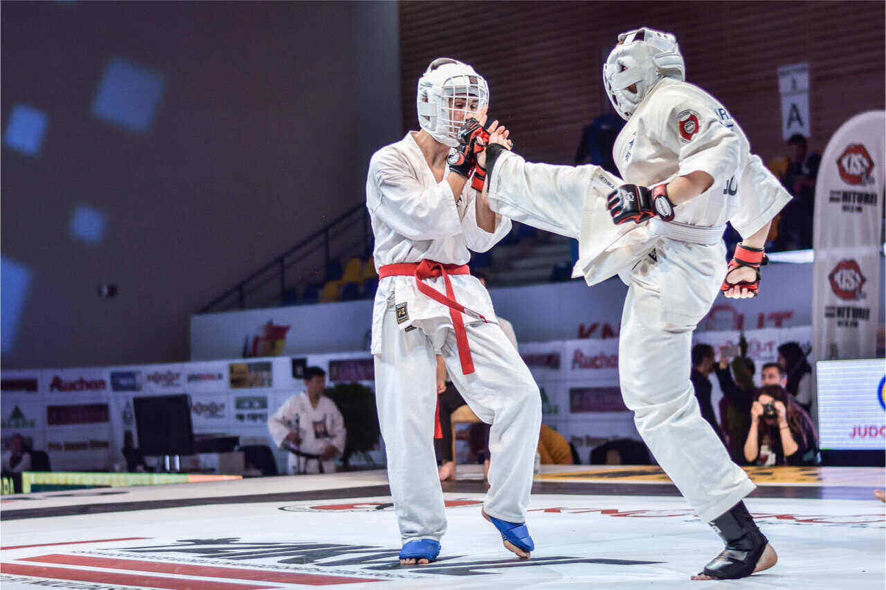 Karate, an example of full contact sports